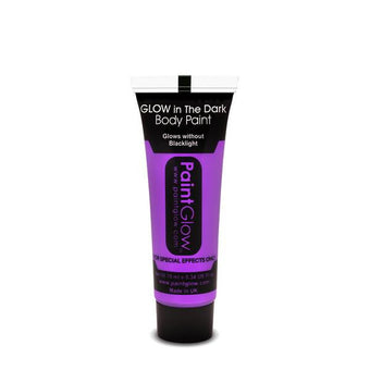 alt PaintGlow Glow in the Dark Face & Body Paint 13ml Violet (AC1A07)