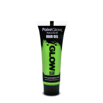 alt PaintGlow Glow in the Dark Hair Gel 13ml Green (AFJ1A02)