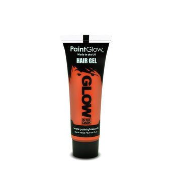 alt PaintGlow Glow in the Dark Hair Gel 13ml Orange (AFJ1A05)