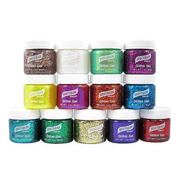 alt Graftobian Glitter Gel For Skin 1oz.