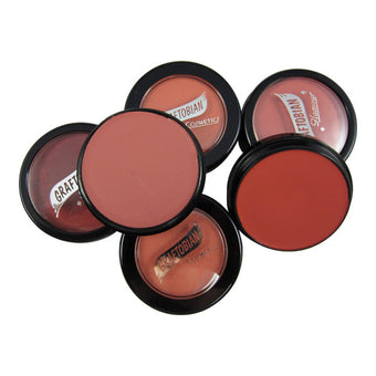 Graftobian Hi-Def Glamour Creme Blush -  | Camera Ready Cosmetics - 3