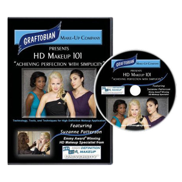 Graftobian HD Makeup 101 DVD -  | Camera Ready Cosmetics