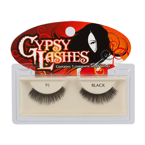 Gypsy Lashes - 91 (901) black -  | Camera Ready Cosmetics