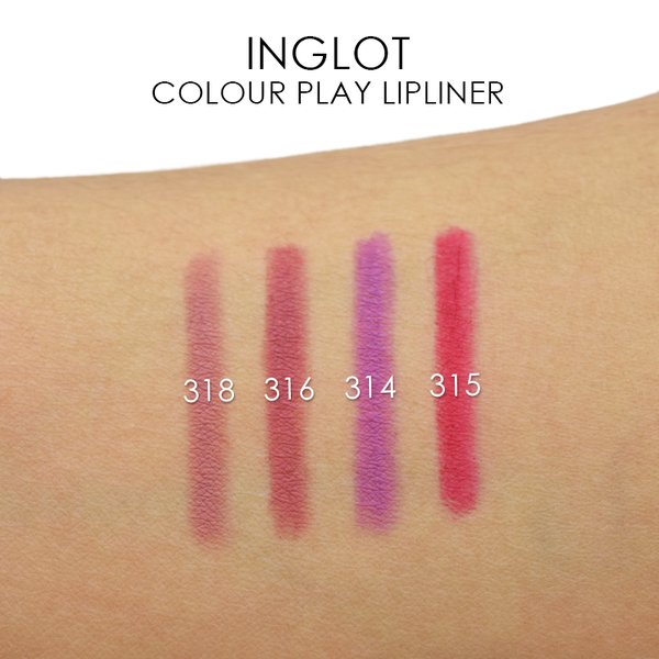 Inglot Colour Play Lipliner -  | Camera Ready Cosmetics - 3