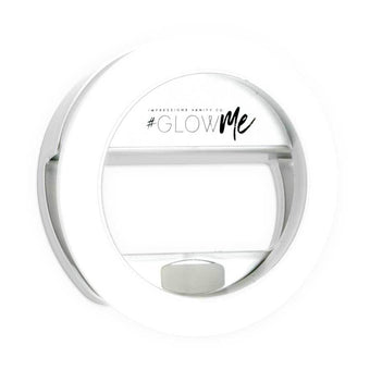 alt Impressions Vanity Co Glowme 2.0 LED Selfie Ring Light for Mobile Devices (USB Rechargeable)