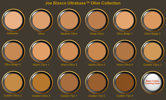 SAMPLE of Joe Blasco UltraBase Foundation -  | Camera Ready Cosmetics - 4