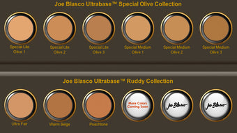 SAMPLE of Joe Blasco UltraBase Foundation -  | Camera Ready Cosmetics - 6