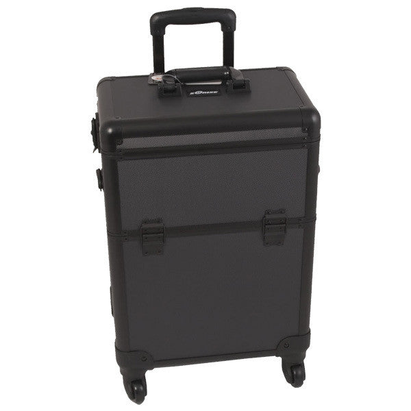 Just Case - Sunrise All Black 4-Wheel Case E6301DTAB (USA Only) -  | Camera Ready Cosmetics - 2