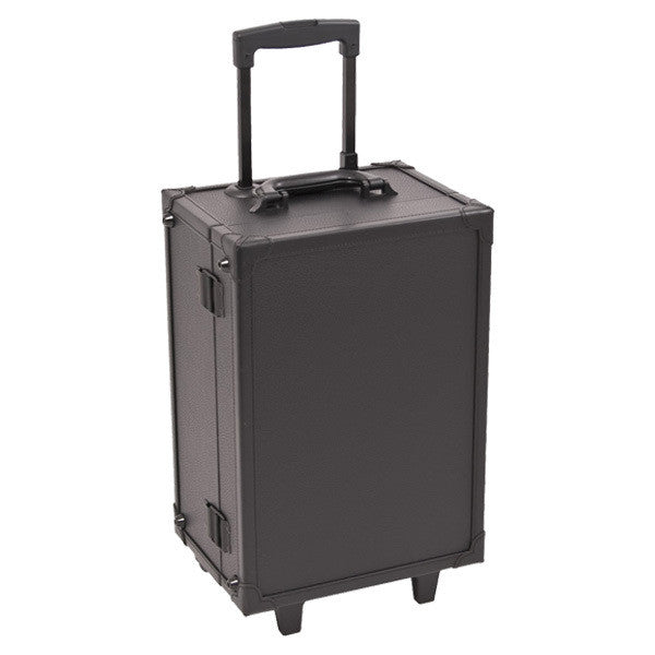 JUST CASE - ALL BLACK MAKEUP STUDIO WITH LIGHT C6201 (USA ONLY) -  | Camera Ready Cosmetics - 2