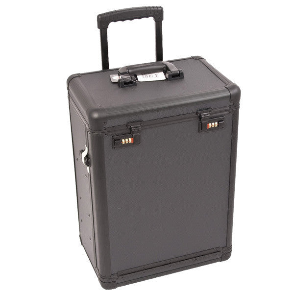 Just Case - Black Dot Rolling Case with Drawer C6000 (USA Only) -  | Camera Ready Cosmetics - 2
