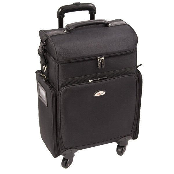 Just Case -  Black Soft Sided Rolling Case C6017NLAB (USA Only) -  | Camera Ready Cosmetics - 2