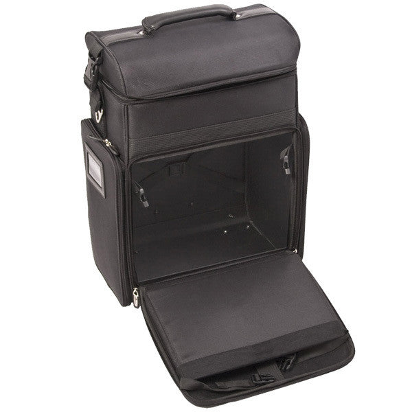 Just Case -  Black Soft Sided Rolling Case C6017NLAB (USA Only) -  | Camera Ready Cosmetics - 5