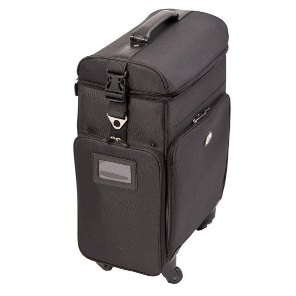 Just Case -  Black Soft Sided Rolling Case C6017NLAB (USA Only) -  | Camera Ready Cosmetics - 8