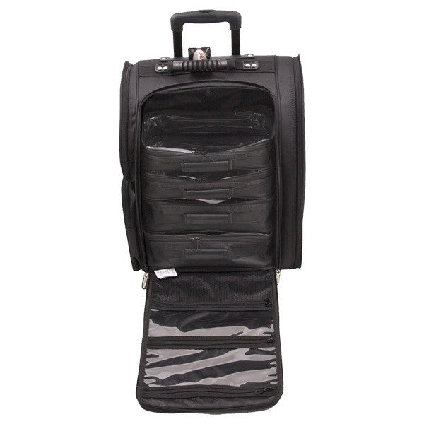 JUST CASE USA - SUNRISE BLACK TROLLEY 1680D NYLON CASE C6401NLAB (USA ONLY) -  | Camera Ready Cosmetics - 10