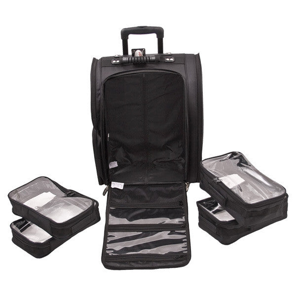 JUST CASE USA - SUNRISE BLACK TROLLEY 1680D NYLON CASE C6401NLAB (USA ONLY) -  | Camera Ready Cosmetics - 9