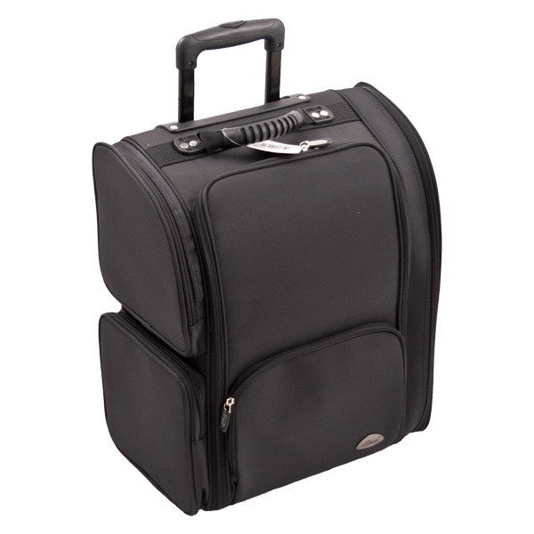 JUST CASE USA - SUNRISE BLACK TROLLEY 1680D NYLON CASE C6401NLAB (USA ONLY) -  | Camera Ready Cosmetics - 4