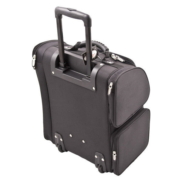 JUST CASE USA - SUNRISE BLACK TROLLEY 1680D NYLON CASE C6401NLAB (USA ONLY) -  | Camera Ready Cosmetics - 3