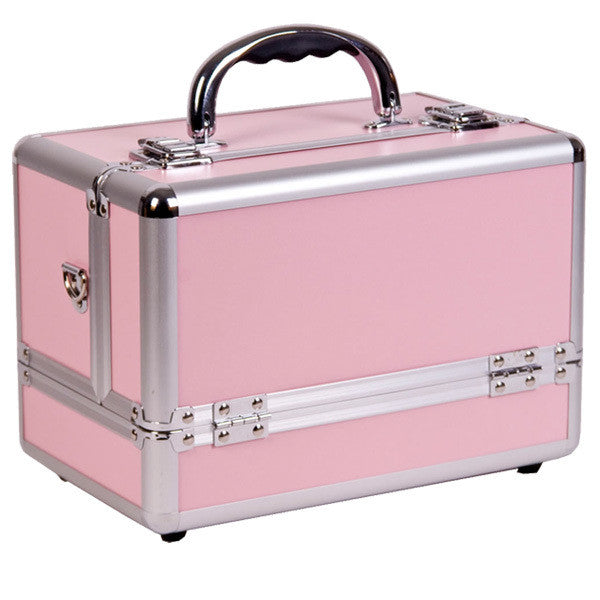 JUST CASE PINK AND SILVER CASE C0001 (USA ONLY) -  | Camera Ready Cosmetics - 2