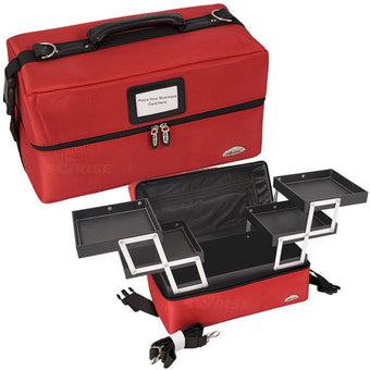 JUST CASE - SOFT SIDED RED CASE C3011 (USA ONLY) -  | Camera Ready Cosmetics - 1