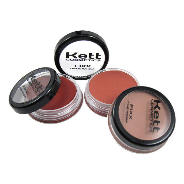 Kett Fixx Creme Blush Compact -  | Camera Ready Cosmetics - 3