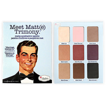 alt The Balm Cosmetics - Meet Matt(e) Trimony - Matte Eyeshadow Palette