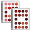 alt Kryolan Lip Rouge Mini-Palette 18 Colors