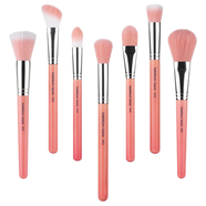Bdellium Tools Pink Bambu Brushes for Face -   - 1