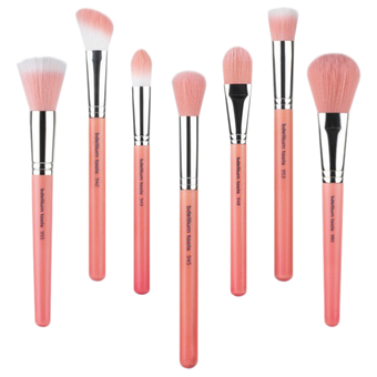 Bdellium Tools Pink Bambu Brushes for Face -  | Camera Ready Cosmetics - 1