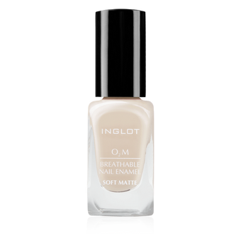 Inglot O2M Breathable Nail Enamel Soft Matte -  | Camera Ready Cosmetics - 1