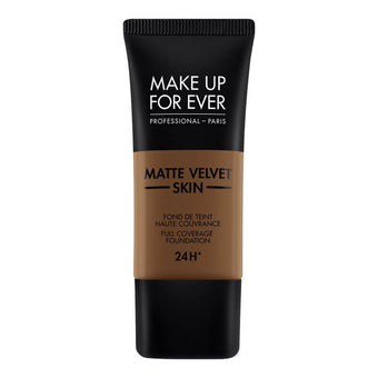 alt Make Up For Ever Matte Velvet Skin Foundation R540 Dark Brown (73540)