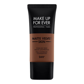 alt Make Up For Ever Matte Velvet Skin Foundation R550 Dark Chocolate (73538)
