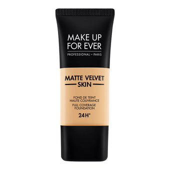 alt Make Up For Ever Matte Velvet Skin Foundation Y255 Sand Beige (73255)