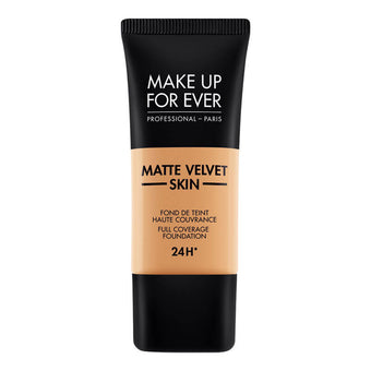 alt Make Up For Ever Matte Velvet Skin Foundation Y433 Caramel (73422)