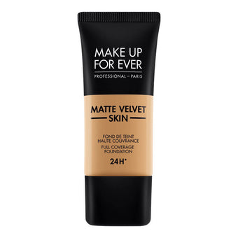 alt Make Up For Ever Matte Velvet Skin Foundation Y445 Amber (73445)