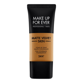 alt Make Up For Ever Matte Velvet Skin Foundation Y513 Warm Amber (73465)