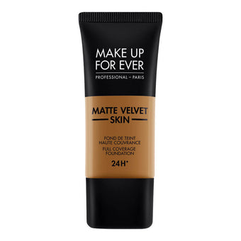 alt Make Up For Ever Matte Velvet Skin Foundation Y523 Golden Brown (73506)