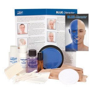 Mehron Blue Person Premium Makeup Character Kit -  | Camera Ready Cosmetics - 2