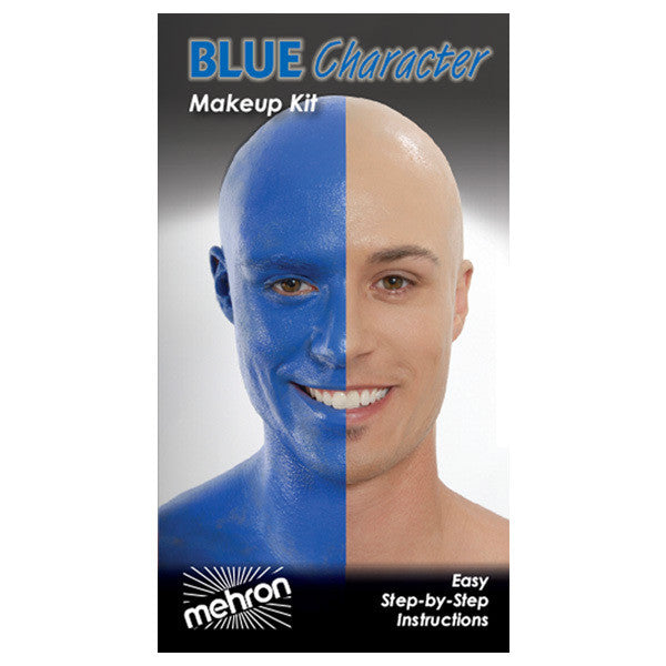 Mehron Blue Person Premium Makeup Character Kit -  | Camera Ready Cosmetics - 3
