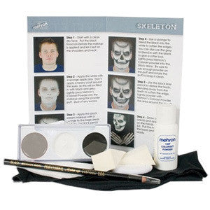 Mehron Skeleton Character Kit -  | Camera Ready Cosmetics - 3