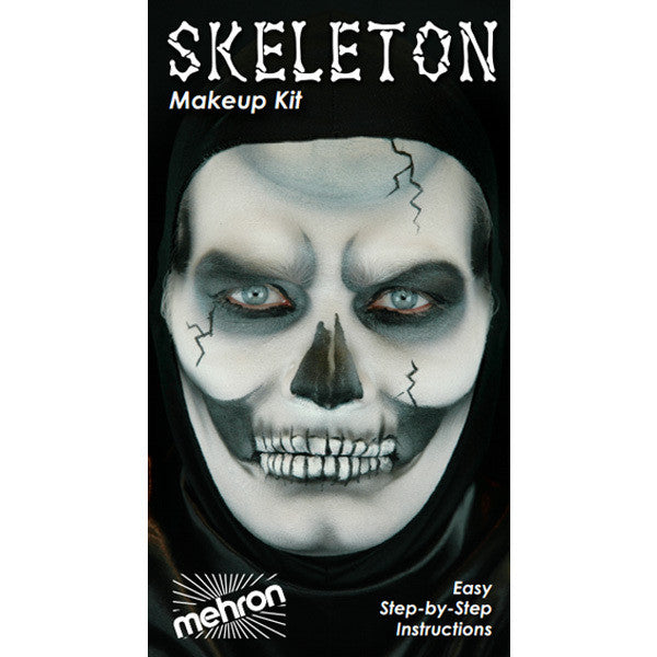 Mehron Skeleton Character Kit -  | Camera Ready Cosmetics - 2