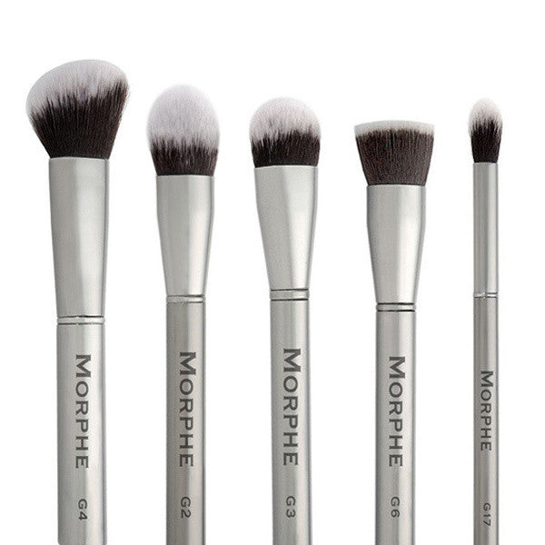 Morphe - Gun Metal Brush Collection -  | Camera Ready Cosmetics - 1
