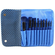 Morphe SET 695 10 PIECE 3D PATTERN NAVY BLUE SET -   - 1