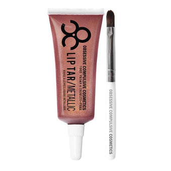 alt OCC Lip Tar Pro Bon Bon - Deep plum pink with copper pearl
