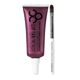 alt OCC Lip Tar Pro Nightingale - Rich fig with pink pearl