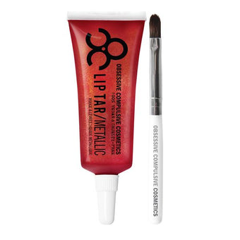 alt OCC Lip Tar Pro Red Dragon - Brilliant metallic ruby red