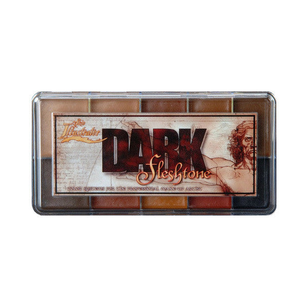 PPI Skin Illustrator - Dark Flesh Tone Palette -  | Camera Ready Cosmetics - 2