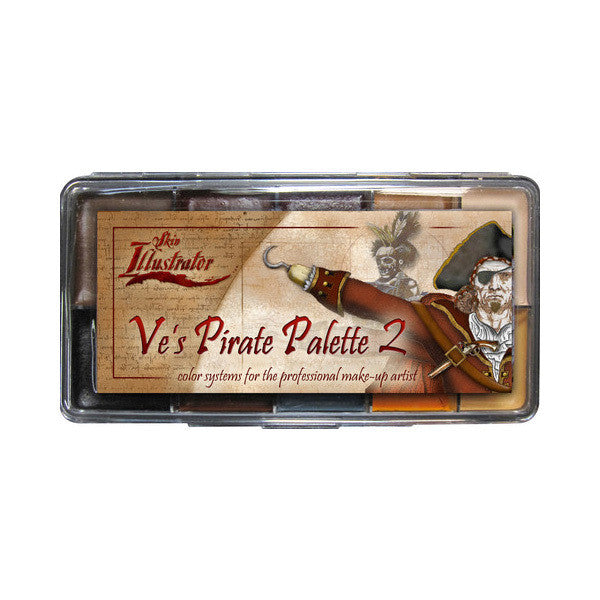 PPI Skin Illustrator - Ve's Pirate 2 Palette -  | Camera Ready Cosmetics - 2