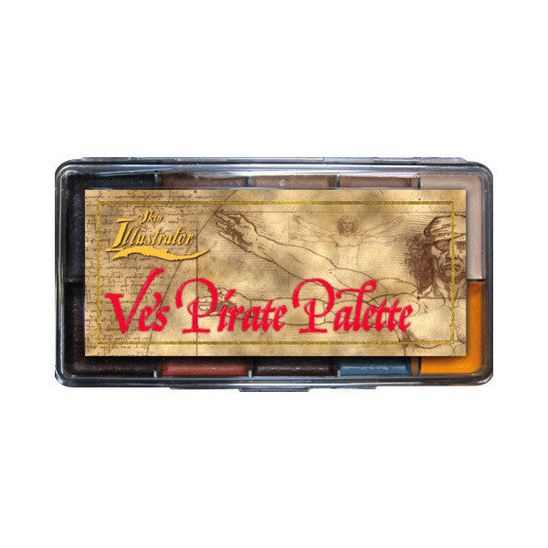 PPI Skin Illustrator - Ve's Pirate Palette -  | Camera Ready Cosmetics - 2