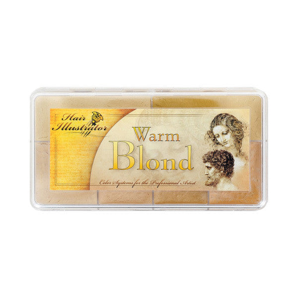 PPI Hair Illustrator - Warm Blond Palette -  | Camera Ready Cosmetics - 2