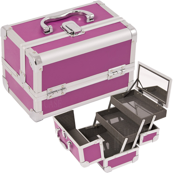 JUST CASE - MAKEUP CASE WITH MIRROR M1001 (USA ONLY) -  | Camera Ready Cosmetics - 1
